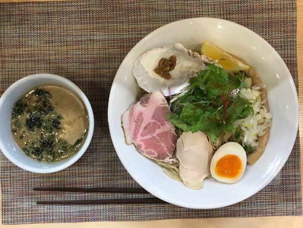 「濃厚牡蠣つけそば(大盛り)」@麺屋 貝原の写真