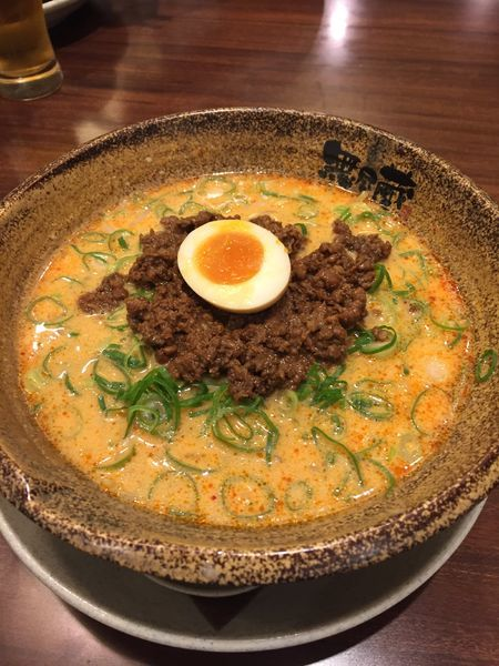 「担々麺 ¥780円」@越後秘蔵麺 無尽蔵 伊丹昆陽店の写真