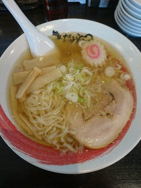 「ラーメン 630円」@麺屋だんとつの写真