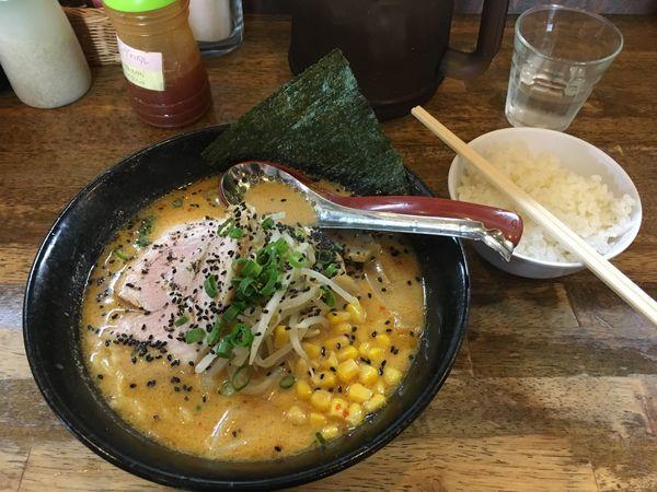 「安養寺味噌らーめん」@麺や 天鳳の写真