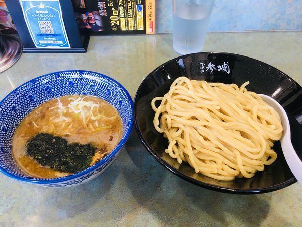 「つけ麺 こってり」@つけめん 参城の写真