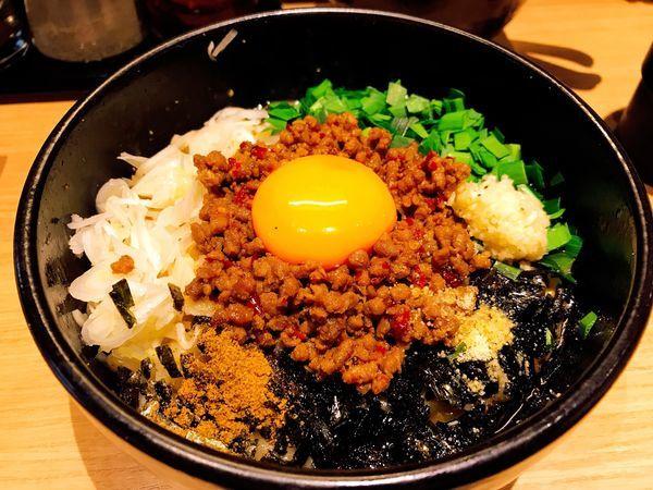 「台湾まぜそば+チーズ」@麺屋 まぜはるの写真