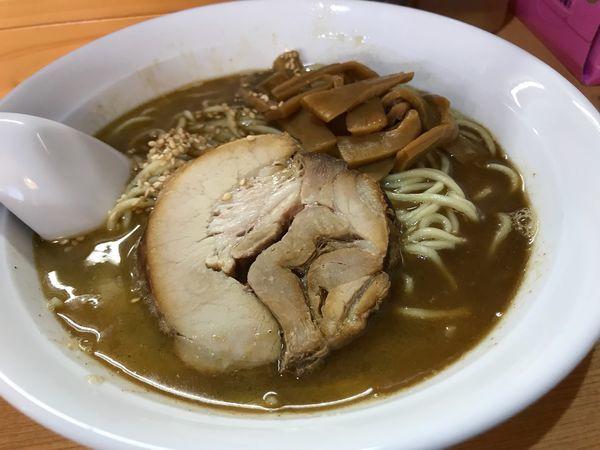 「燻製煮干塩らーめん 850円」@麺家うえのの写真