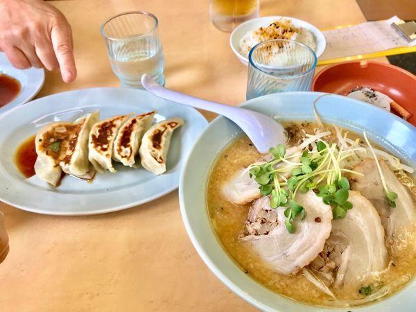 「みそチャーシュー麺」@くるまやラーメン 箕輪店の写真