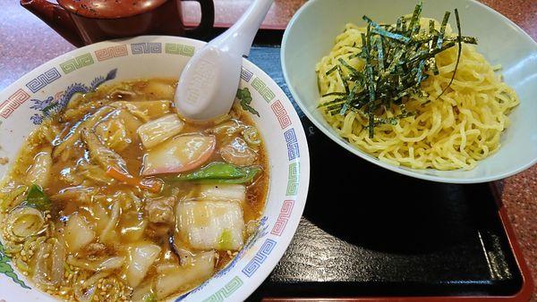 「野菜つけ麺(680円)」@ラーメン王の写真