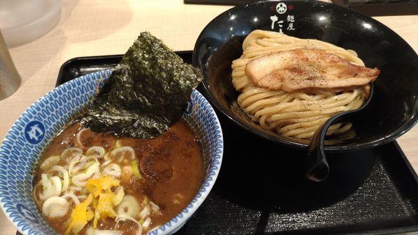 「濃厚魚介豚骨つけ麺(小)」@麺屋 たけ井 R1号店の写真