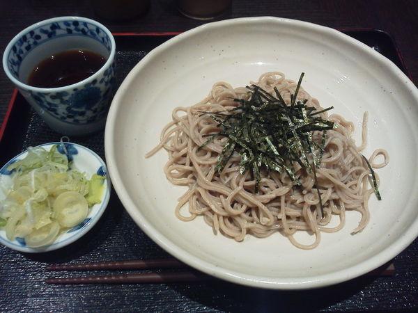 「ざるそば 400円」@SOBA DINING 凛や 池袋店の写真