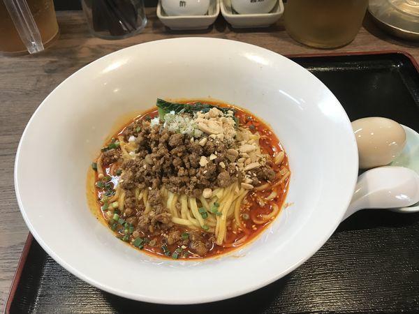 「辛口つゆ無し担担麺」@FUKU ROKU JYU 福禄寿の写真