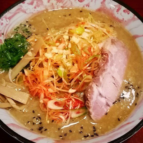 「濃厚辛ネギ味噌ラーメン 950円」@濃厚豚骨味噌 麺や 光圀の写真
