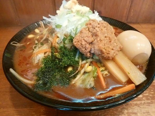 「【限定】味噌野菜タンメン850円+味玉」@麺や 蒼輝 AOIKAGAYAKIの写真