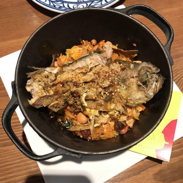 「魚のビリヤニ」@GARA スパイスレストラン 池袋店の写真