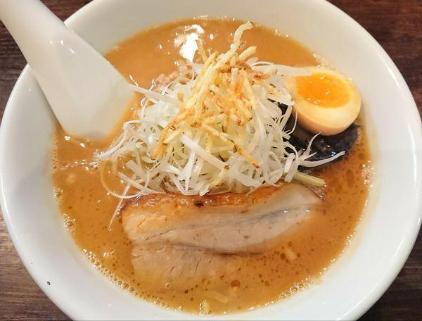 「濃厚味噌らーめん」@麺屋 雪風 すすきの本店の写真