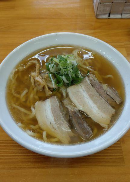 「あっさりゴールデン醤油」@あじ庵食堂の写真