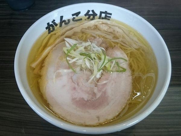 「ラーメン塩(バラ)」@元祖一条流がんこ 総本家分店の写真