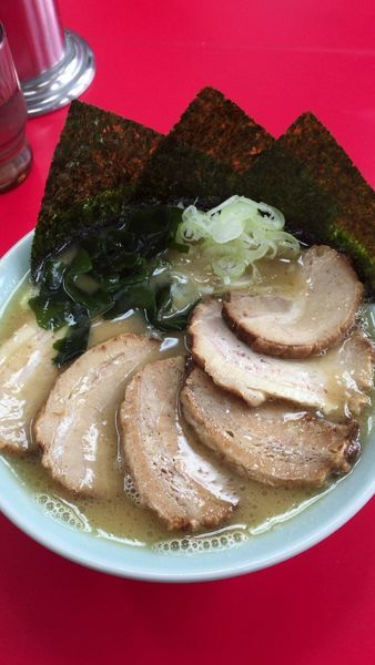 「チャーシュー麺」@とんこつラーメン松平 六浦店の写真