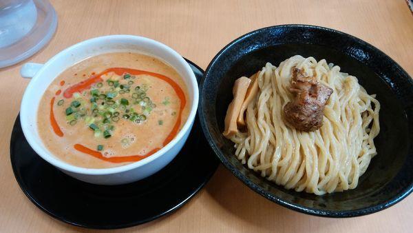 「担々つけ麺+半ライス」@麺蔵 あつおの写真