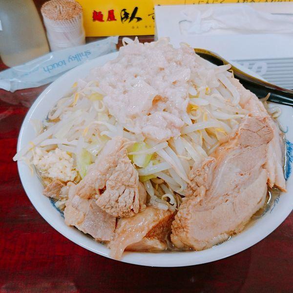 「ラーメン 中 脂 ニンニク少し」@麺屋 臥竜の写真
