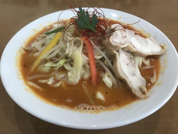 「辛タンメン 大辛 800円」@麺や 遊大の写真