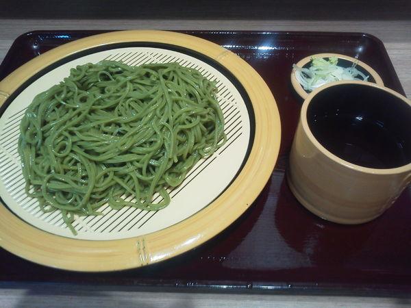 「茶そば 450円」@狭山そば 所沢店の写真