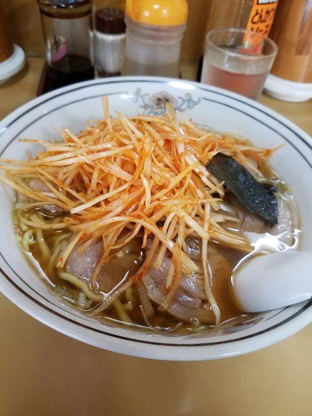 「ねぎチャーシュー麺‼」@北斗ラーメンの写真