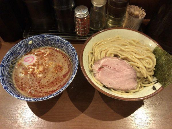 「辛つけ麺(800円)」@俺の麺 春道の写真