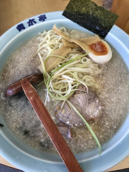 「ラーメン醤油-中(¥700)」@ラーメン青木亭 戸田店の写真
