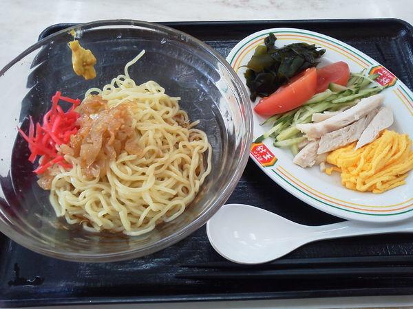 「冷麺(冷やし中華) 680円?+tax」@餃子の王将 イトーヨーカドー食品館小手指店の写真