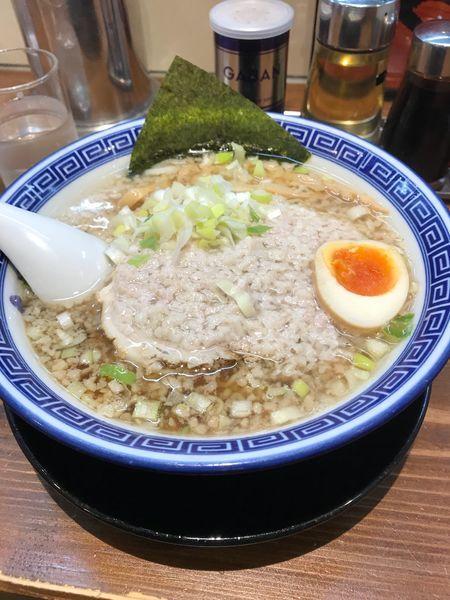 「濃厚こってり熟成中華麺」@麺家 くさび 福島店の写真