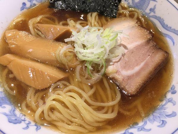 「にぼし拉麺(750円)」@拉麺5510の写真