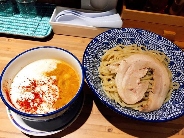 「海老泡つけ麺 大盛+チャーシュー1枚」@麺 TOKITAの写真