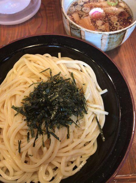 「【限定】鴨出汁つけそば820円」@麺屋たつみ 喜心 狭山店の写真