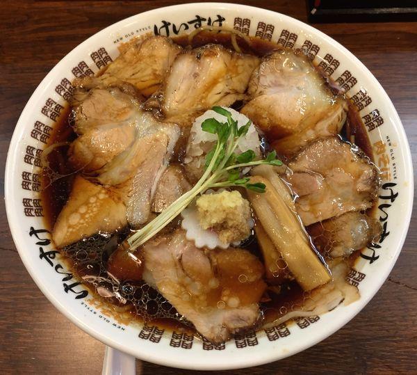 「肉そば醤油並盛り790円」@New Old Style 肉そばけいすけの写真