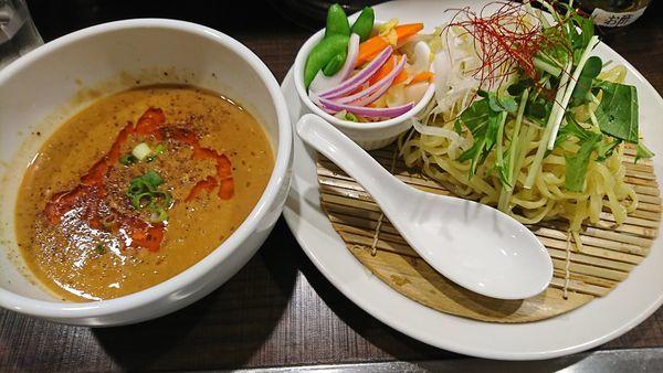 「特製阿吽つけ麺(950円)」@四川担担麺 阿吽 北浦和店の写真