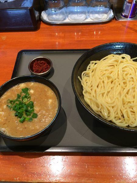 「濃厚辛つけ麺880円」@中華そば 輝羅の写真