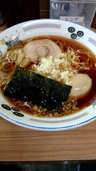 「ラーメン(600円)+味玉(100円)」@らぁ麺 つねの写真
