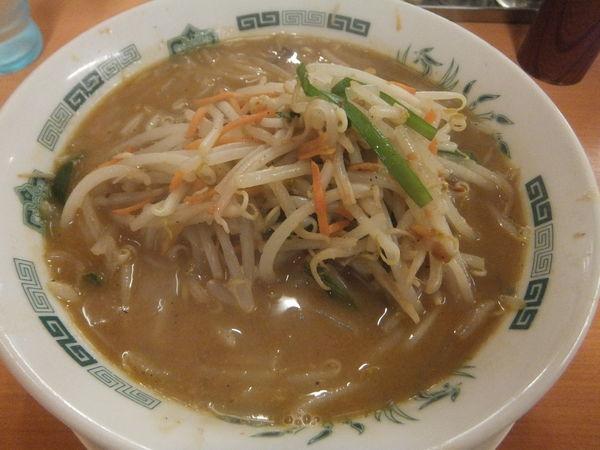 「味噌ラーメン520円(大盛無料券で大盛無料)」@日高屋 鶯谷店の写真