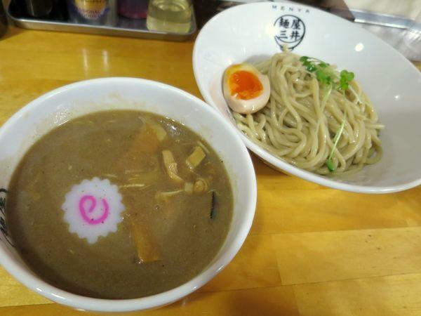 「つけ麺 750円 ※小」@麺屋三井の写真
