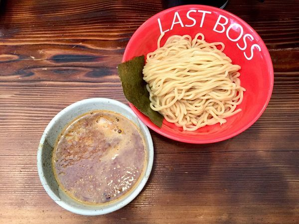 「裏ボスつけ麺辛口」@つけめん ラスト・ボスの写真