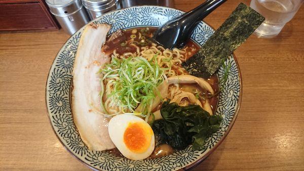 「魚豚ラーメン(大)」@屯ちん 池袋西口店の写真