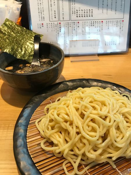 「黒つけ麺❷」@つけ麺 ががちゃい 中山店の写真