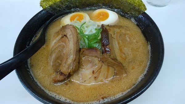 「チャーシューみそらーめん ¥950」@麺や 山道の写真