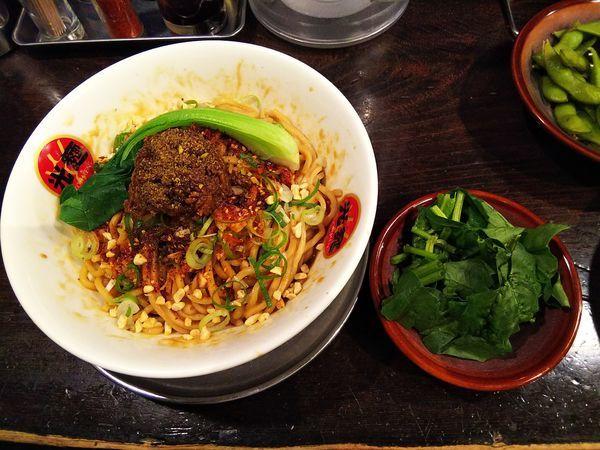 「期間限定 汁なし 担々麺」@光麺 原宿店の写真