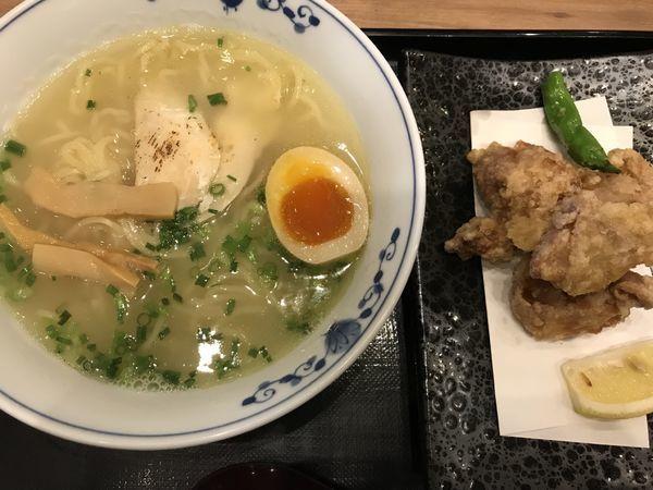 「伊達鶏の鶏白湯900円」@鶏五味 越谷レイクタウン店の写真