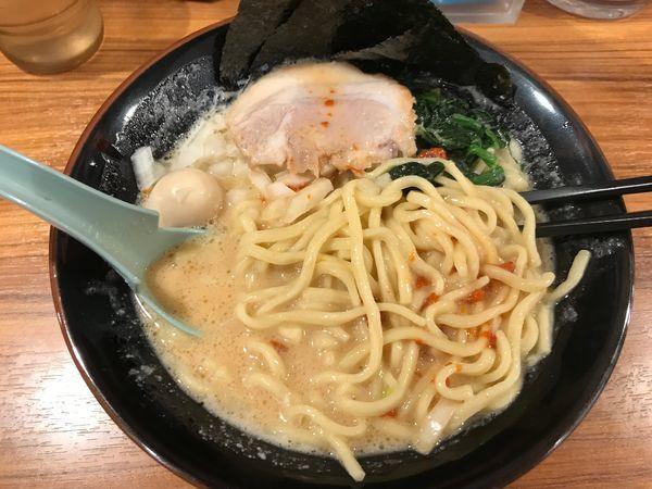 「ラーメン」@横浜家系ラーメン 壱角家 谷塚店の写真