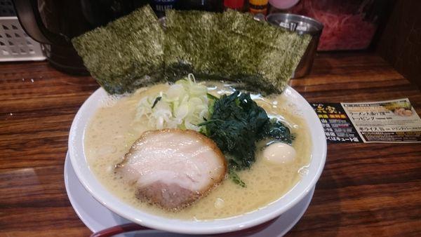 「塩ラーメン」@横浜家系ラーメン 清六家 守谷店の写真