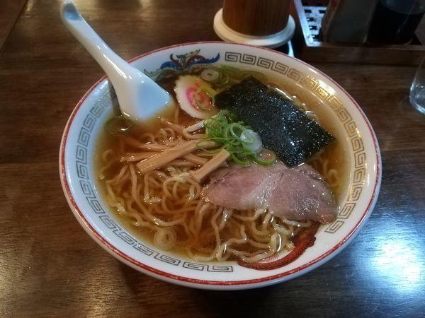 「5/19ラーメン600円」@池光食堂の写真