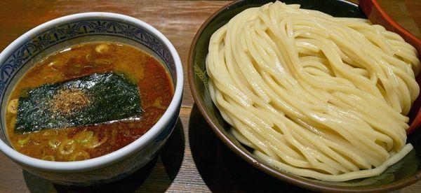 「山椒つけ麺 大盛640g」@つけ麺専門店 三田製麺所 神田店の写真