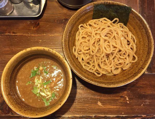 「ベジポタつけ麺790円」@二代目えん寺の写真