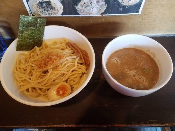 「つけ麺(醤油)」@ダイニングキッチン 一恵(ICHIE)の写真