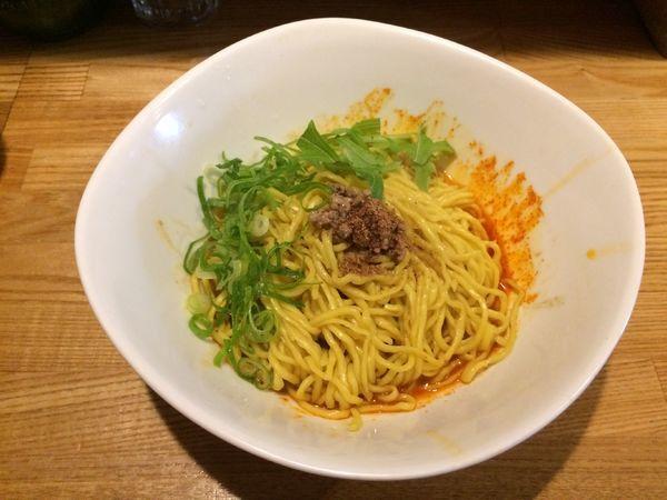 「汁なし担々麺」@汁なし担々麺 麻沙羅の写真